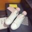 รองเท้าผ้าใบแฟชั่น ทรงสวย พร้อมลิ้นรองเท้ารูปหูสัตว์ ดูน่ารักตามกระแสไม่เบา thumbnail 5