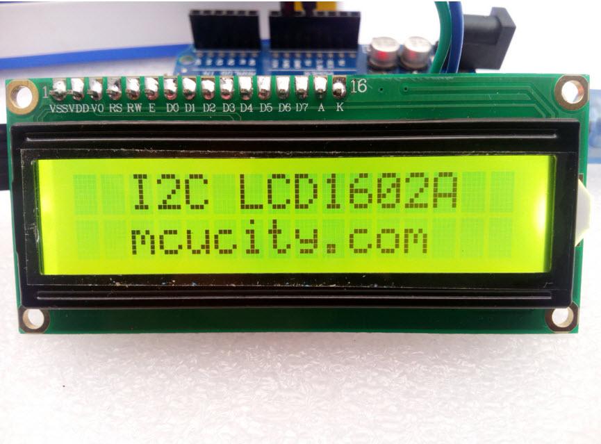 IIC/I2C/TWI 1602 16x2 Serial LCD Module Display for Arduino (GREEN)