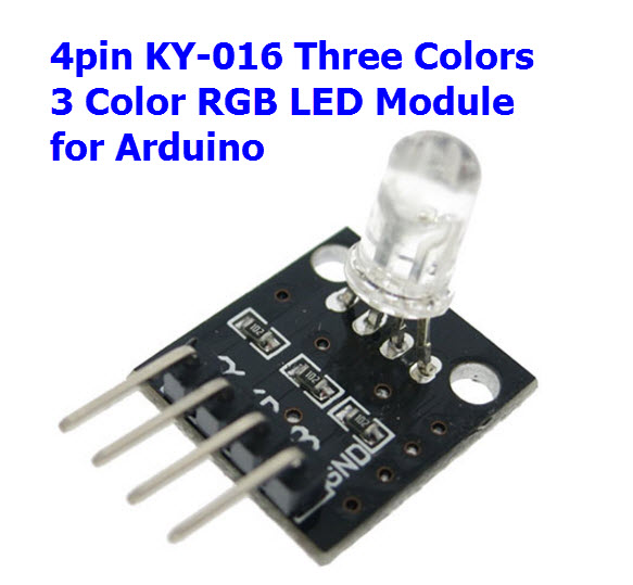 4pin KEYES KY-016 Three Colors 3 Color RGB LED Sensor Module for Arduino