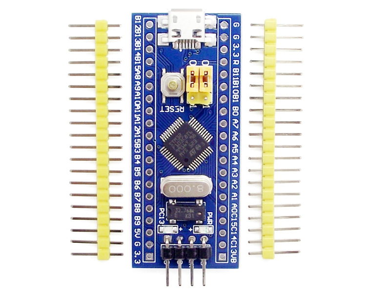 STM32F103C8T6 STM32duino (64Kbyte FLASH memory) with Bootloader(maple COMx)