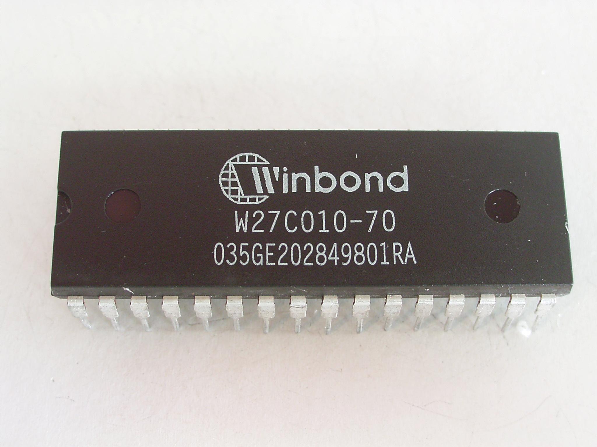 W27C010 EPROM 1Mbit(128KB) DIP32