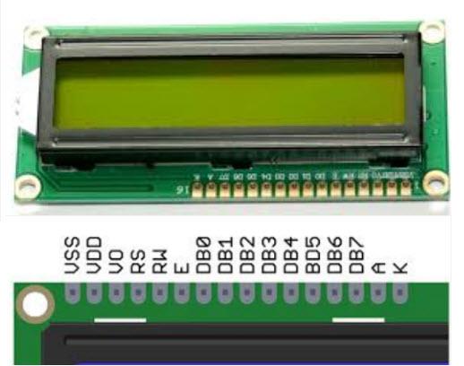 LCD 1602A 16x2 LCD Module Display