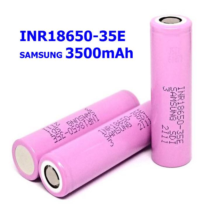 INR18650-35E (10A) Samsung 3500mAh 3.7V lithium-ion (ของแท้)