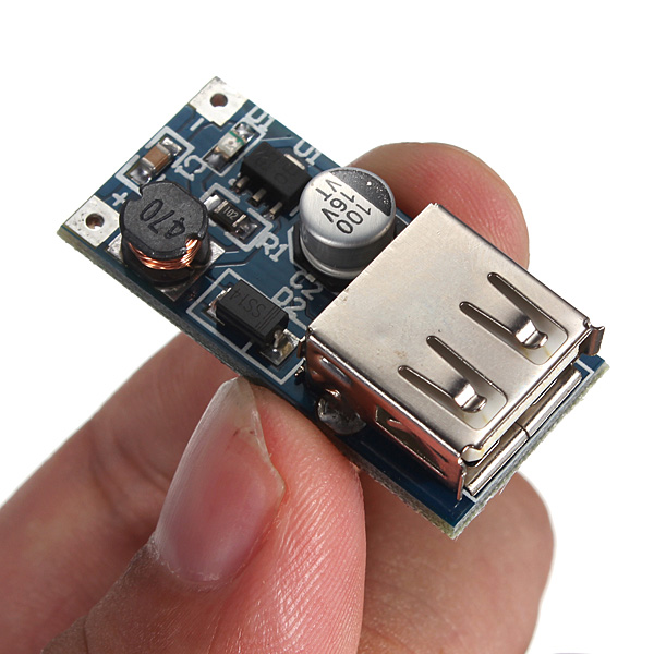 PFM Control DC-DC 0.9V-5V To USB 5V Boost Step-up Power Supply Module