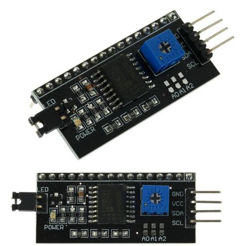 IIC/I2C/TWI Serial Interface Board Module Arduino 1602 2004 LCD Display