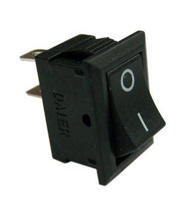 KCD1-101 2Pin 2 Position SPST ON-OFF Rocker Switch 3A/250V 6A/125V (21mm)