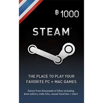 Steam Wallet Thai 1000 THB