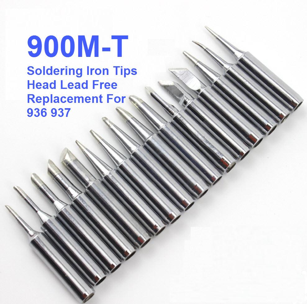 ปลายหัวแร้ง 900M-T Soldering Iron Tips Replacement For 936 937