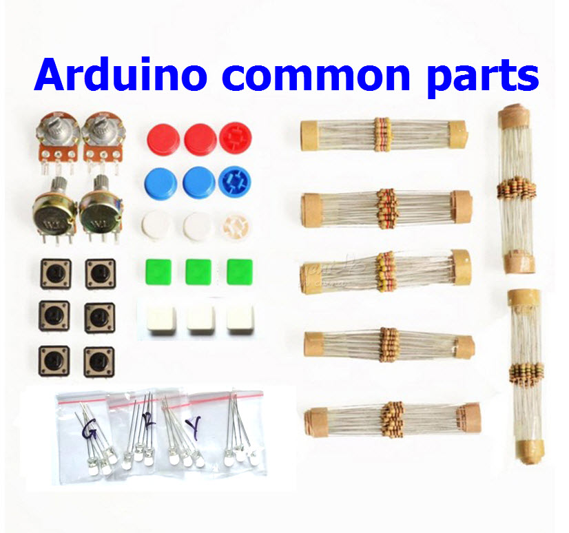 Arduino Common Parts Package อุปกรณ์ทดลอง