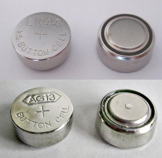 ถ่านกระดุม AG13 LR44 L1154 357 A76 (1.5V) Button Cell