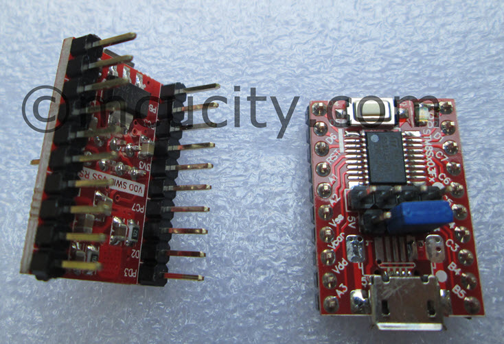 STM8S003F3P6 to DIP 20 (600mil)