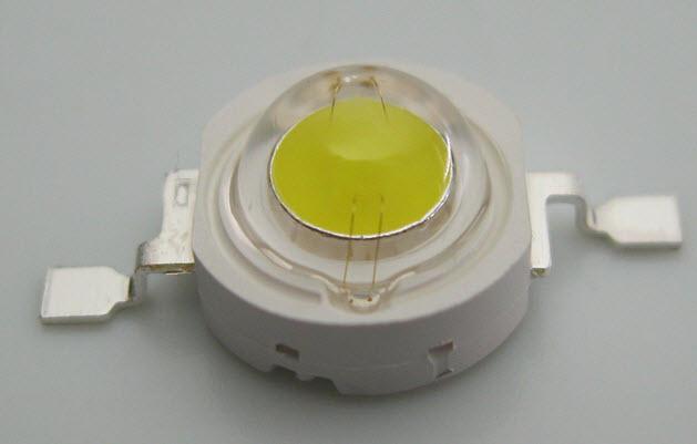 LED 1w High Power White (สีขาว) ( 6000-6500K )