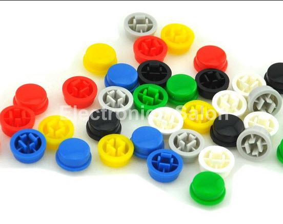 พลาสติกปุมกด Round B3F-4055 Tactile Switch Cap 9.58x5.1mm compatible with OMRON