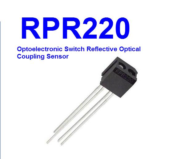 RPR220 Optoelectronic Switch Reflective Optical Coupling Sensor
