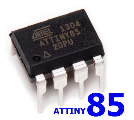 ATTINY85 Attiny 85 DIP8 Flash 8Kbyte RAM 512 byte