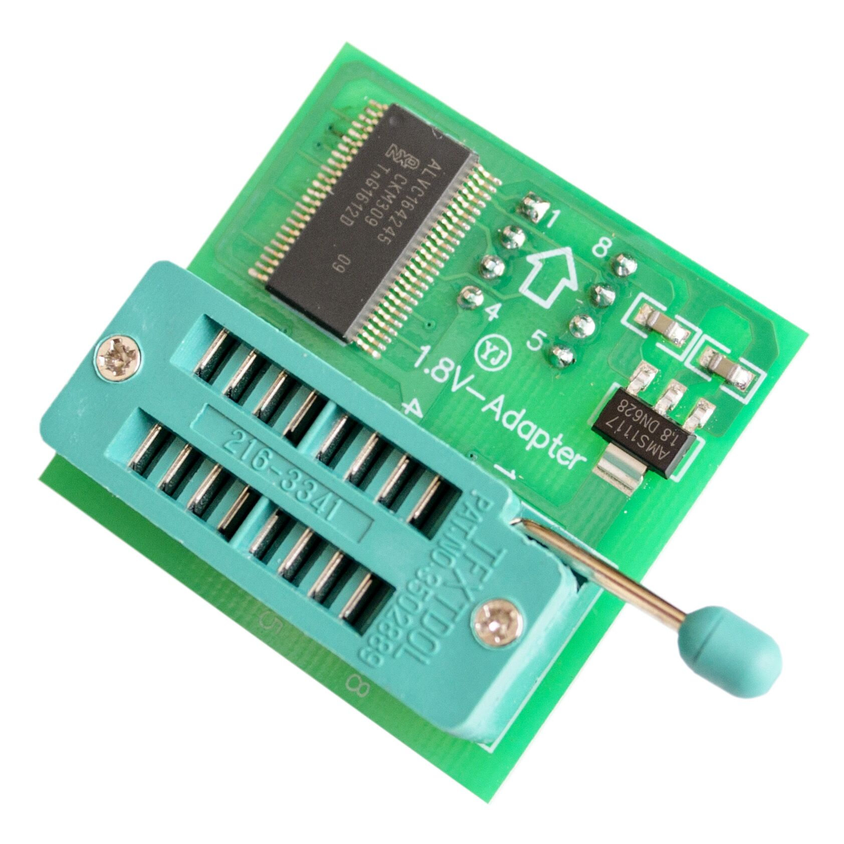 1.8V adapter SPI Flash use on programmers TL866CS CH341