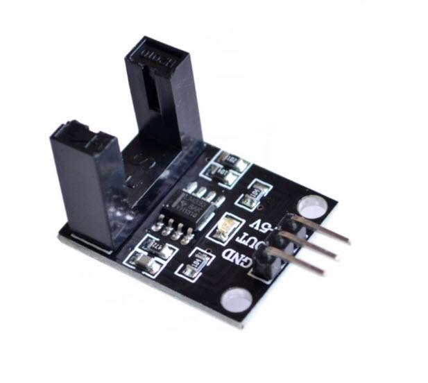 Beam photoelectric sensor with infrared sensor module counting sensor