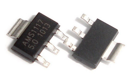 AMS1117 2.5V (SOT-223) 1A Low-Dropout Linear Regulator