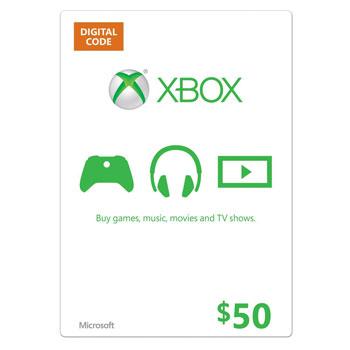 Xbox Gift Card 50 US