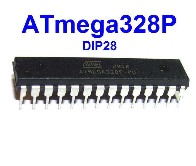 ATMEGA328P (DIP28) 8-BIT MICROCONTROLLER WITH 32KBYTES