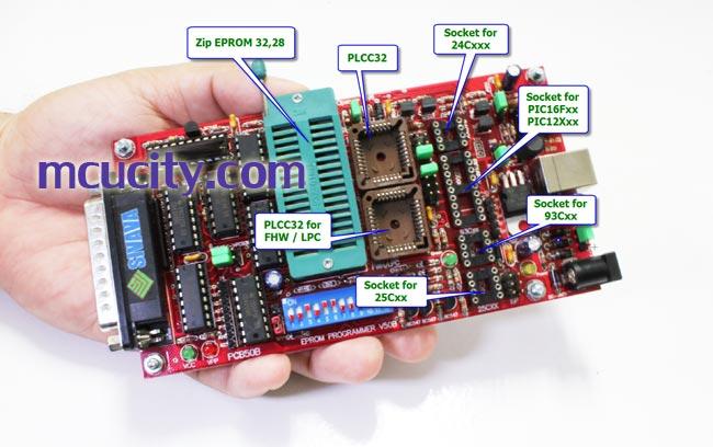 เครื่องโปรแกรมไบออส Willem EPROM Programmer รุ่น PCB50B (Flash Bios)
