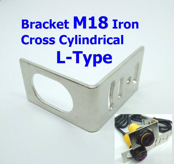 Bracket M18 Iron Cross Cylindrical L-Type