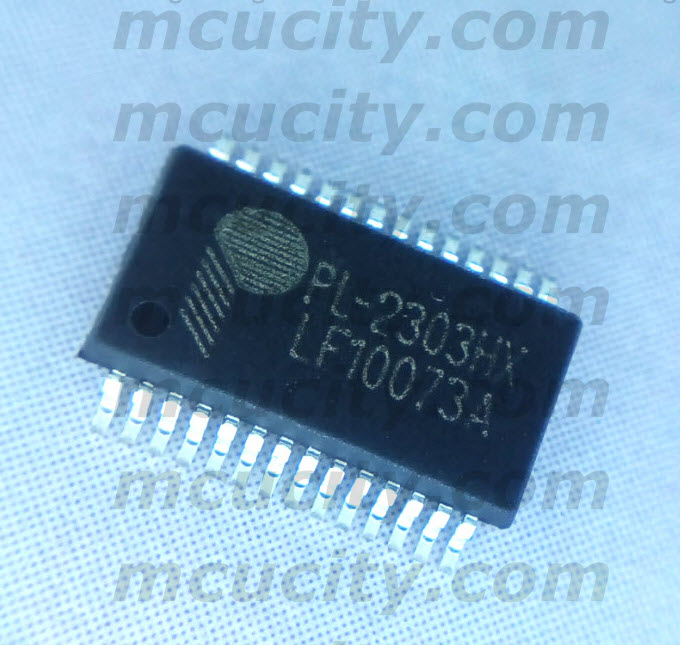 PL-2303HX (SSOP28) USB-to-Serial Bridge Controller