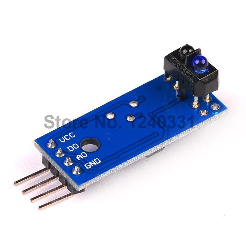 TCRT5000 INFRARED REFLECTIVE SENSOR MODULE IR BARRIER LINE TRACK PHOTOELECTRIC SWITCH