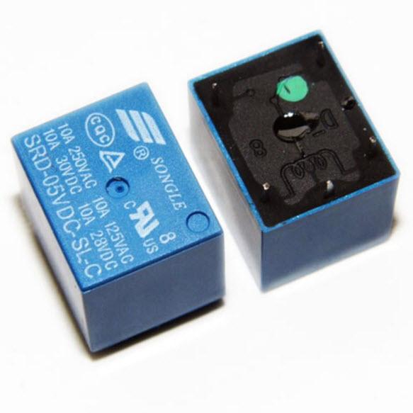 รีเลย์ 5V-24 SRD-5VDC-SL-C SRD-12VDC-SL-C Power Relay