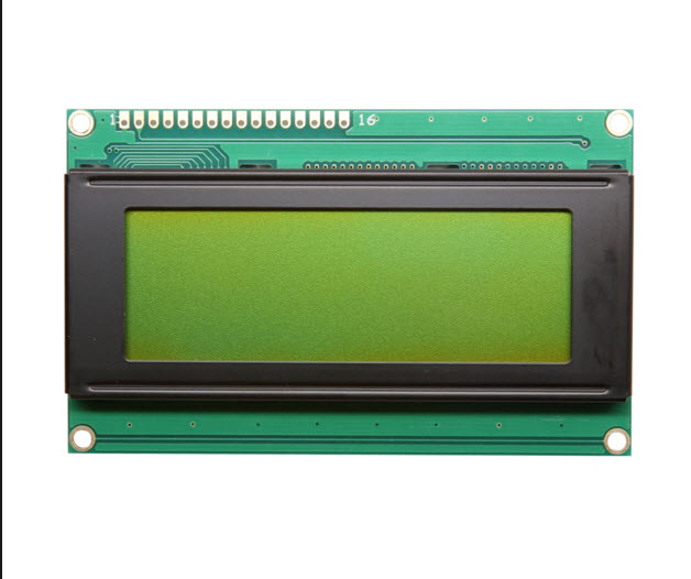 LCD 2004A LCD (Yellow Screen) 20x4 LCD with backlight