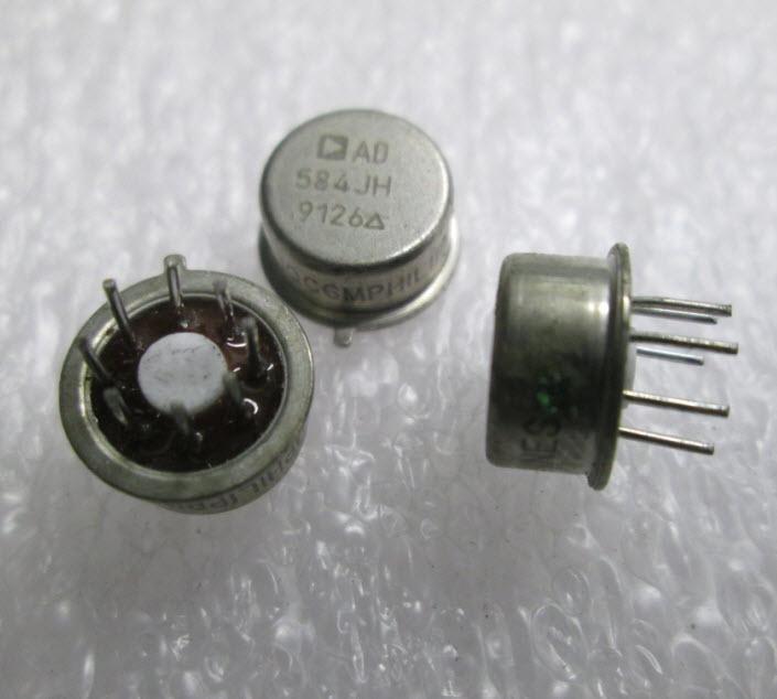 AD584JH Pin Programmable Precision Voltage Reference (2.5V/5V/7.5V/10V 10mA 8-Pin TO-99)