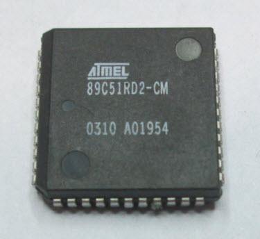 ATMEL 89C51RD2-CM (PLCC44)