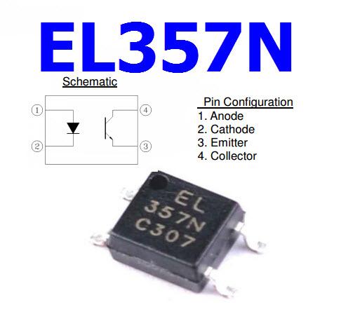 EL357N SMD Optocoupler EL357 EL357NC