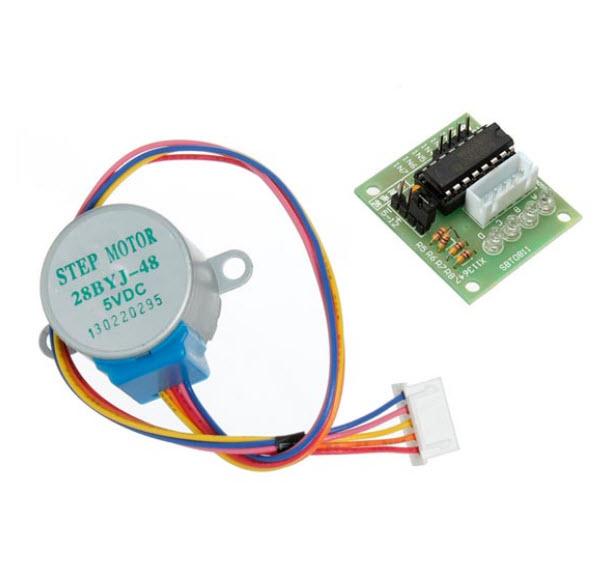 ULN2003 stepper motor driver board + 5V stepper motor stepper motor