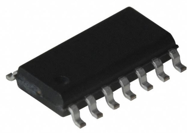 SN74HC126 74HC126 (SOIC-14) Quadruple Bus Buffer Gates With 3-State Outputs