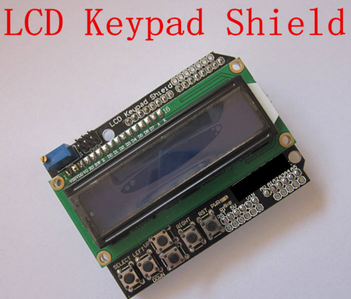 LCD Keypad Shield ARDUINO