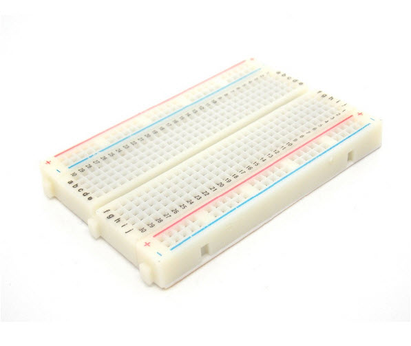 Mini Solderless Breadboard Bread Board 400 Holes Contacts Available Test Board 8.5*5.5CM