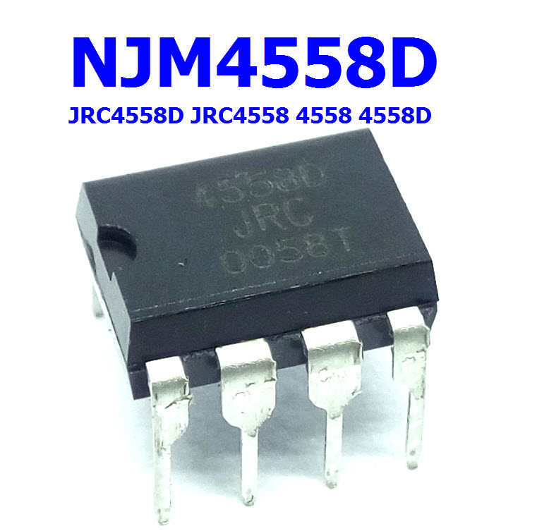 NJM4558D JRC4558D JRC4558 DUAL OPERATIONAL AMPLIFIER