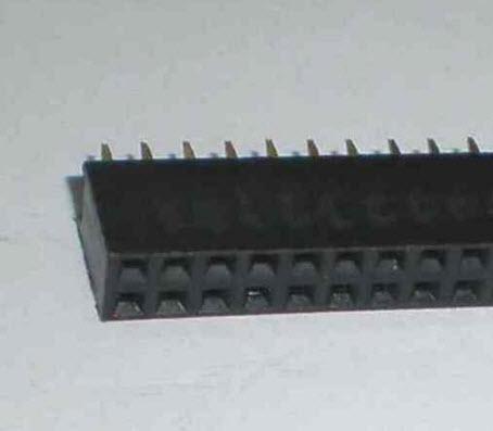 40x2 Pin (80PIN) 2.54 mm Female (DUAL ROW BREAKABLE PIN HEADER)