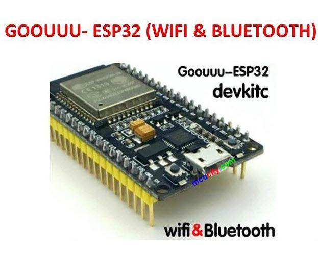 Goouuu-esp32 ESP32 Development Board Wireless WiFi+Bluetooth 2 in1 Dual Core