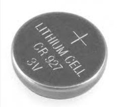 CR927 3V 30mAh Lithium Button Coin Battery for watches, toys,calculator etc
