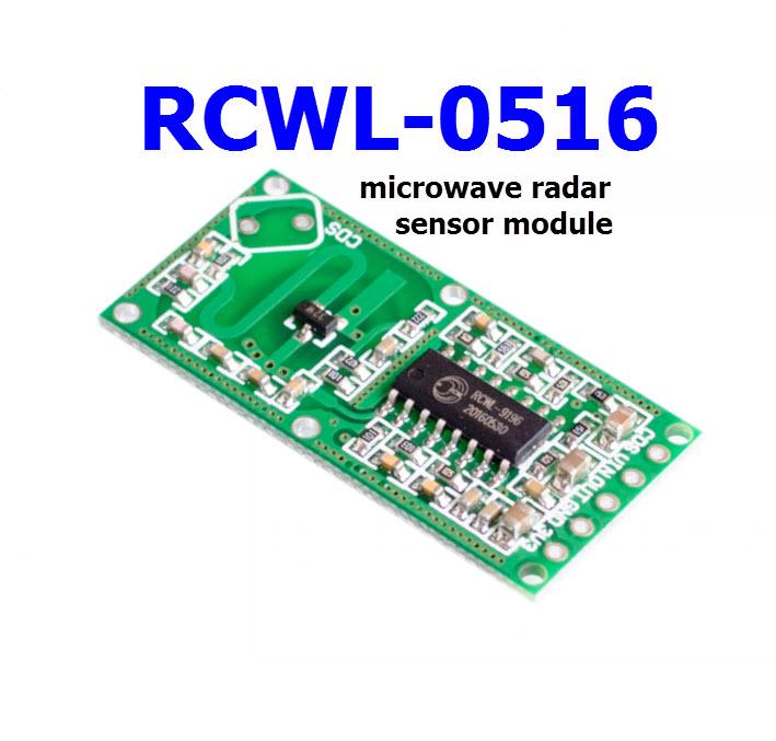RCWL-0516 microwave radar sensor module Human body induction switch module Intelligent sensor