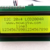 I2C LCD2004A LCD (Yellow Screen) 20x4 LCD with backlight