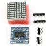 MAX7219 dot matrix module microcontroller module for arduino display module