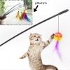 ของเล่นแมว ไม้ล่อแมวกระพรวน (5 ชิ้น/แพ็ค)