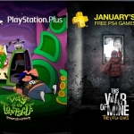 PSN Plus US - Free Games for January 2017