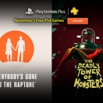 PSN Plus US - Free Games for November 2016