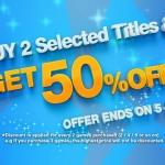 PSN Store Thai - ซื้อเกมทุกๆ 2 เกม ได้ลด 50%