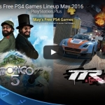 PSN Plus US - Free Games for May 2016