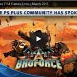 PSN Plus US - Free Games for March 2016
